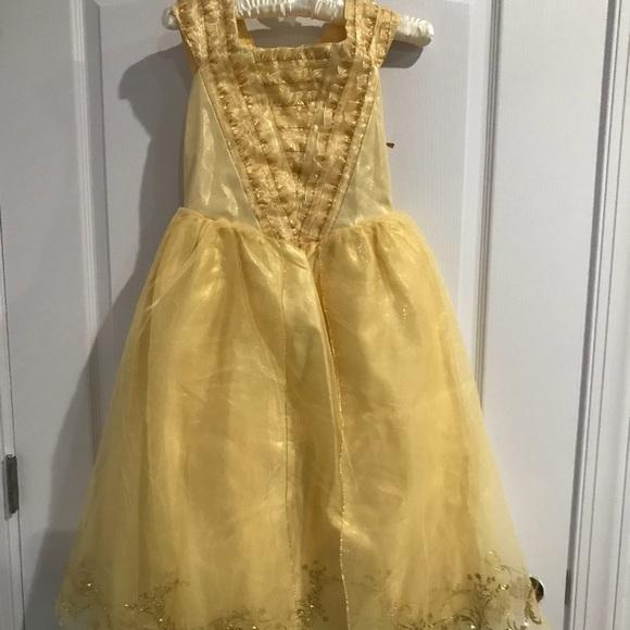 Disney Other - Disney Store Authentic Beauty   Beast Belle Dress b44b18f61